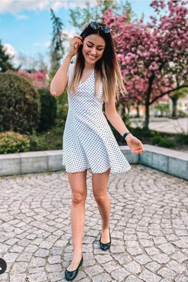 Sukienka w groszki DOTS 1
