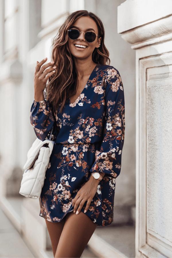 Sukienka w kwiaty MALVINA 2