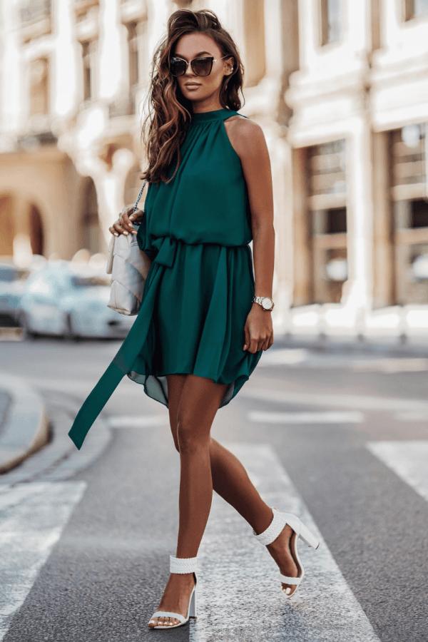 Sukienka szyfonowa LIVIA