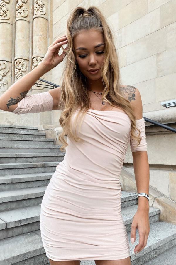 Sukienka z rękawkami SASSY