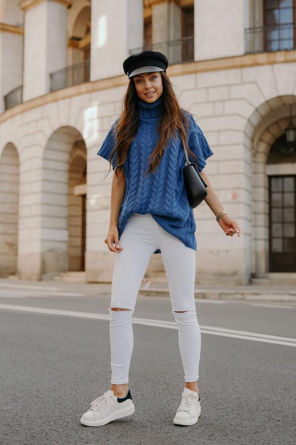 Sweter kamizelka z golfem BOSTON 1