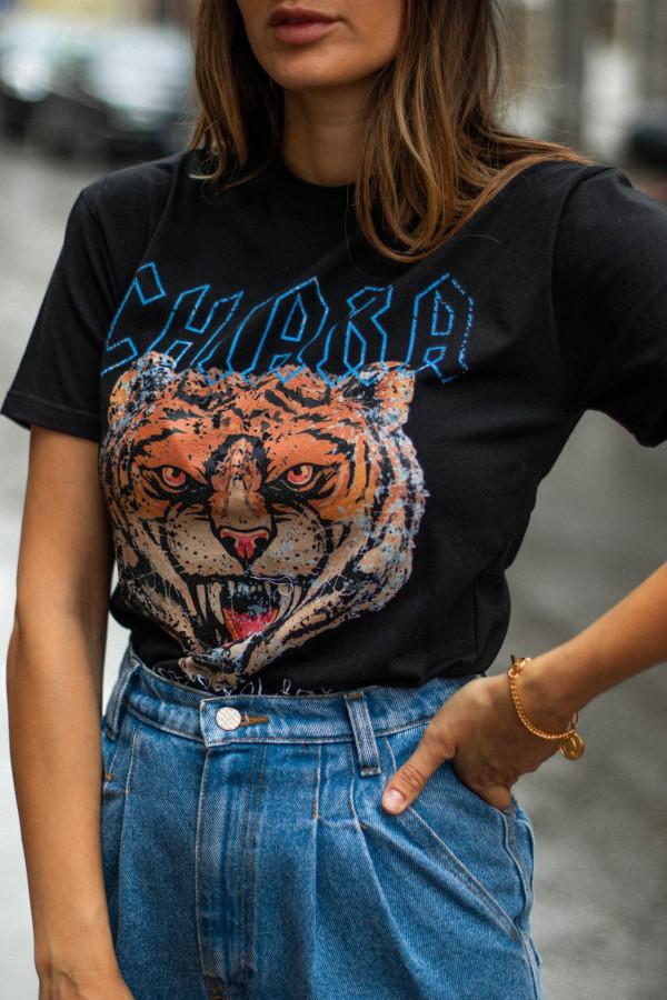 T-shirt basic CHIARA ROAR 2