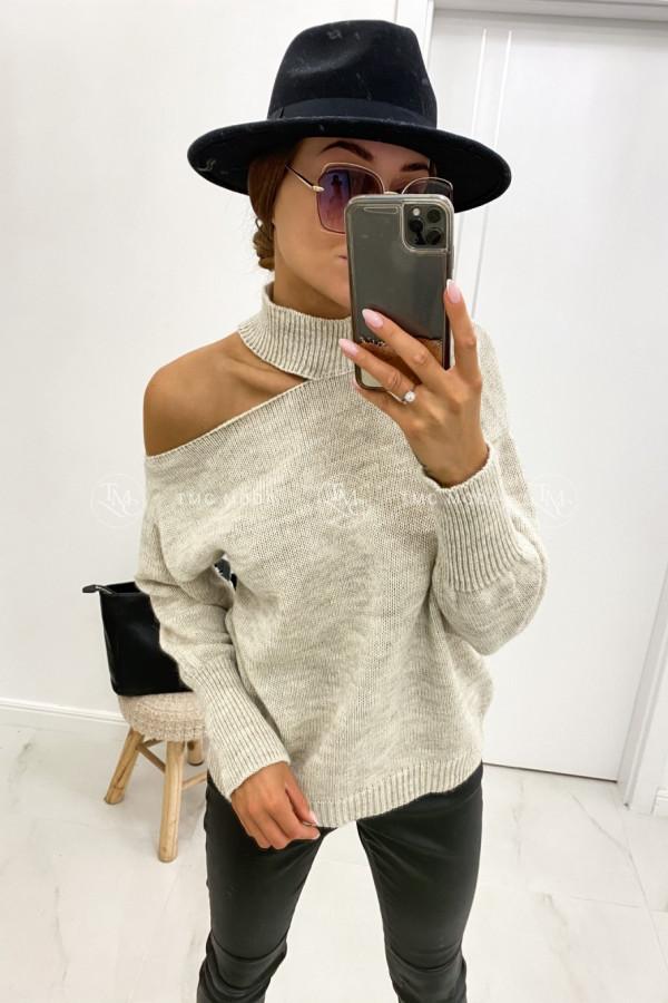 Sweter z wycięciem MAYA 1