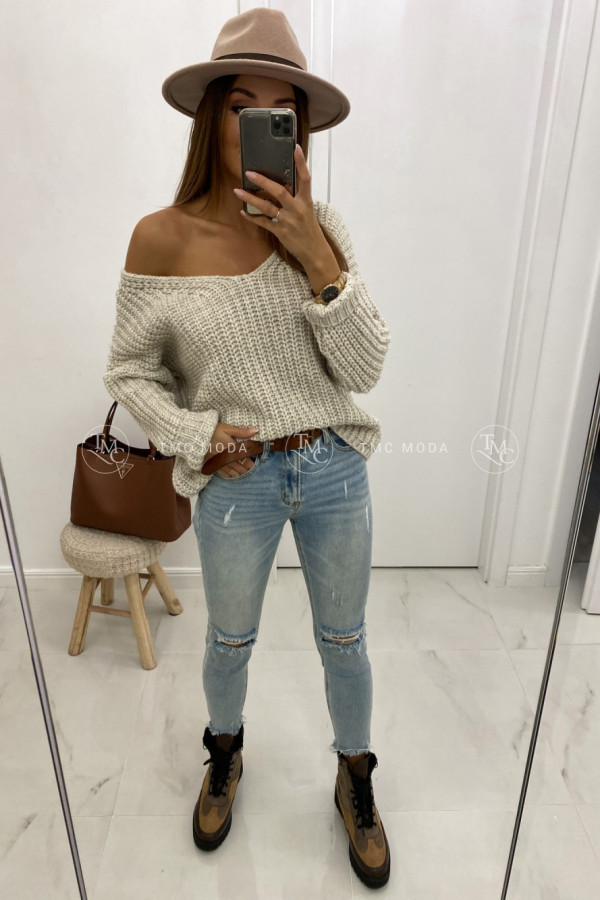 Sweter oversize DION