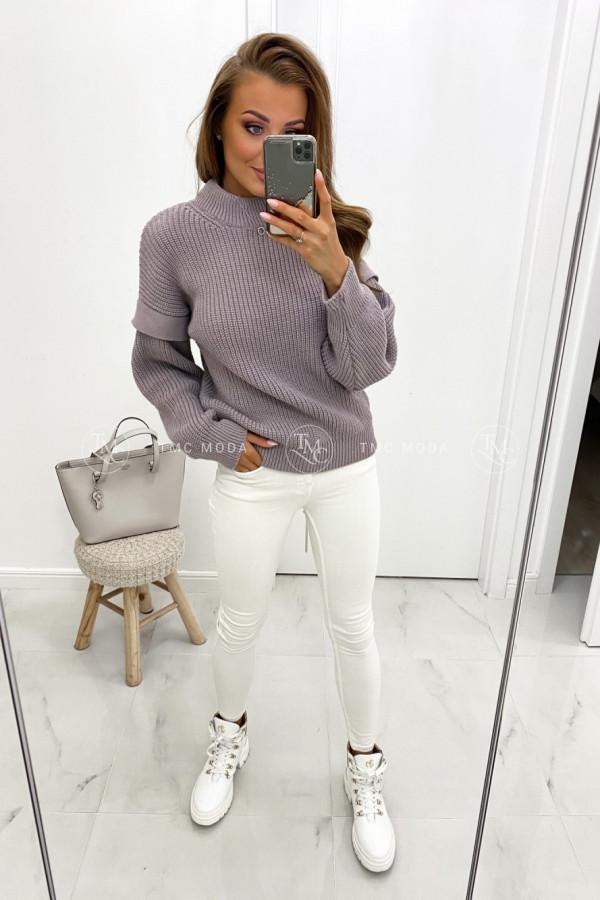 Sweter z półgolfem MANIS