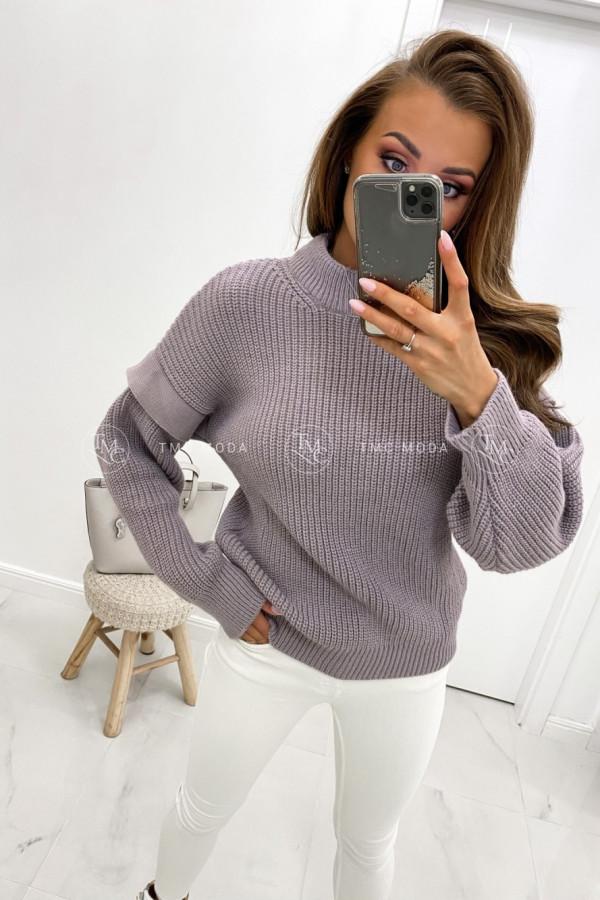 Sweter z półgolfem MANIS 1