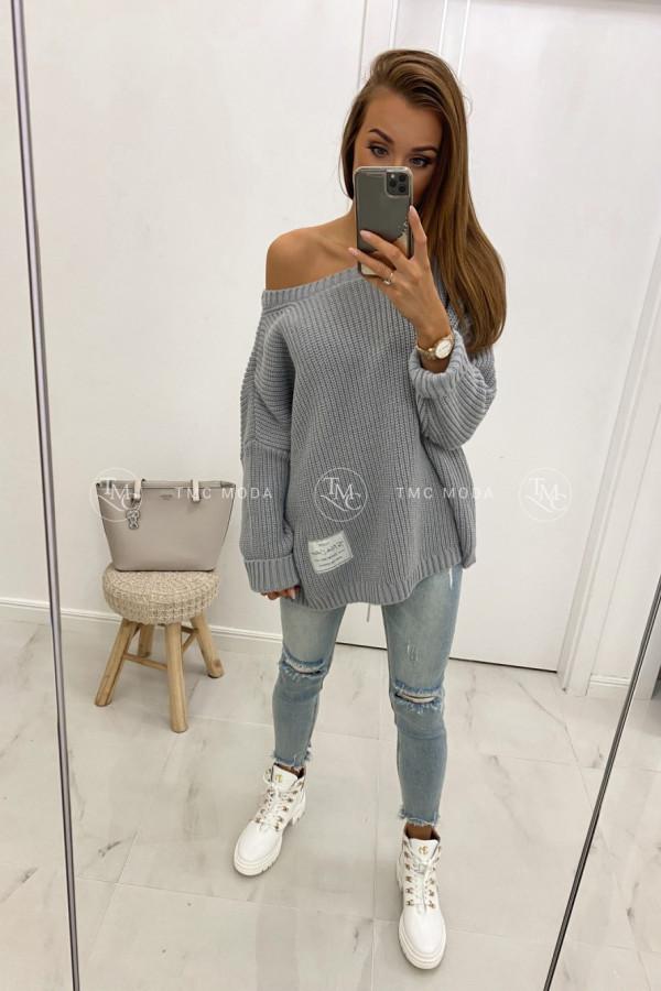 Luźny sweter GIANN 1