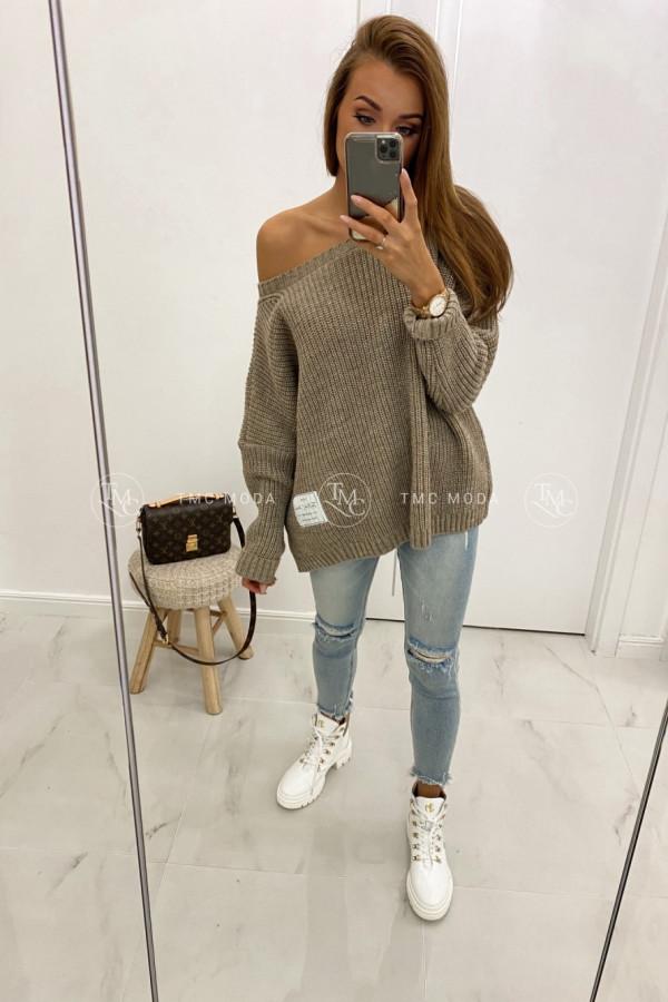 Luźny sweter GIANN