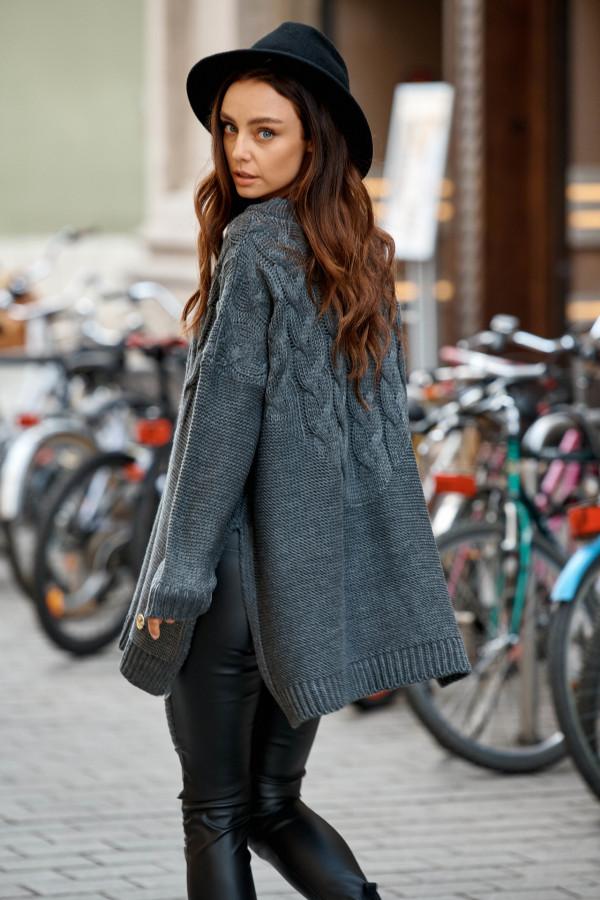Sweter z rozcięciami PORTO