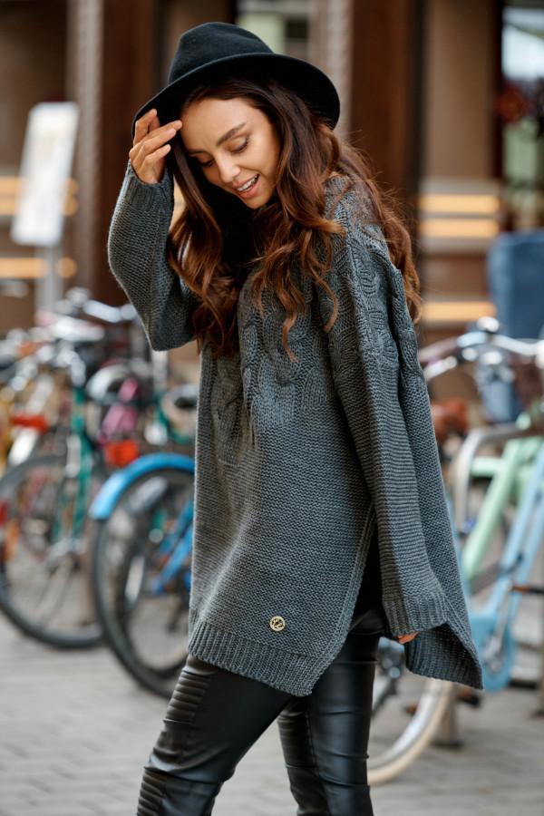 Sweter z rozcięciami PORTO 4