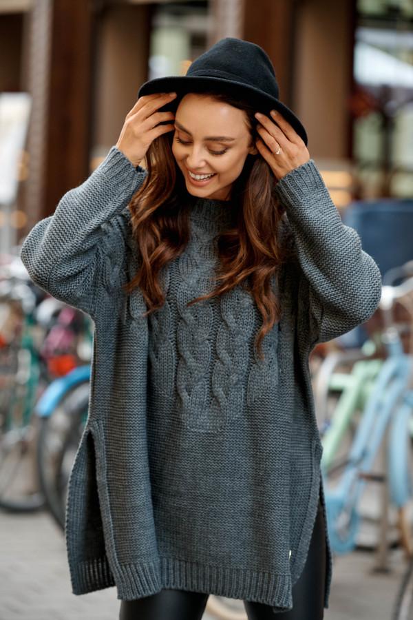 Sweter z rozcięciami PORTO 1