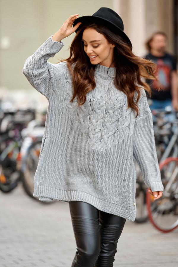 Sweter z rozcięciami PORTO 2