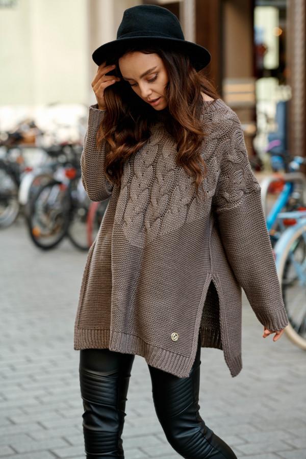 Sweter z rozcięciami PORTO 3