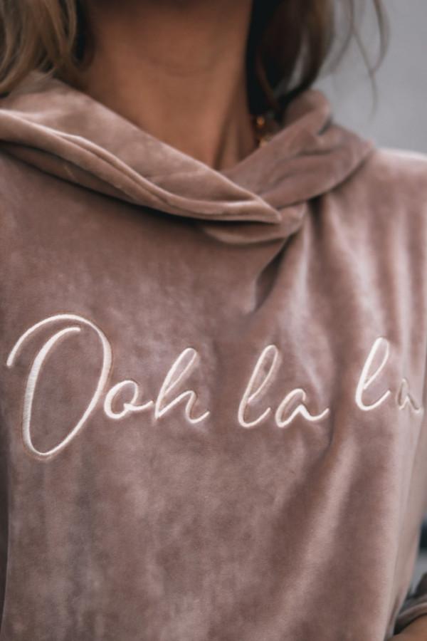 Welurowy dres OOH LA LA 3