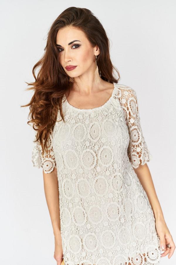Ażurowa sukienka BOHO 2