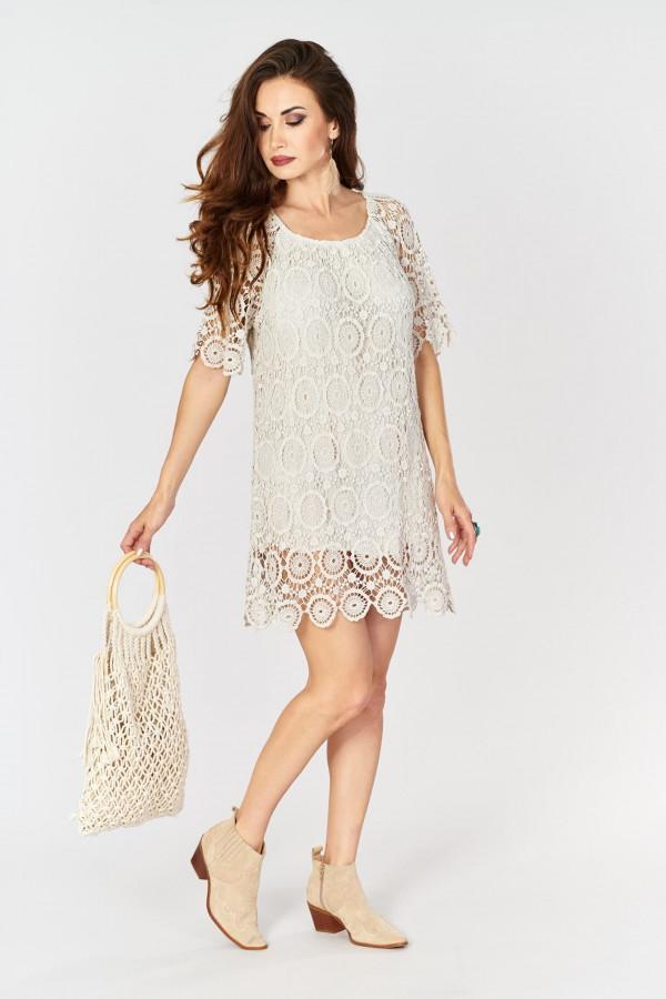 Ażurowa sukienka BOHO 3