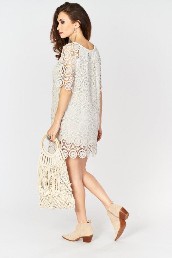 Ażurowa sukienka BOHO 5
