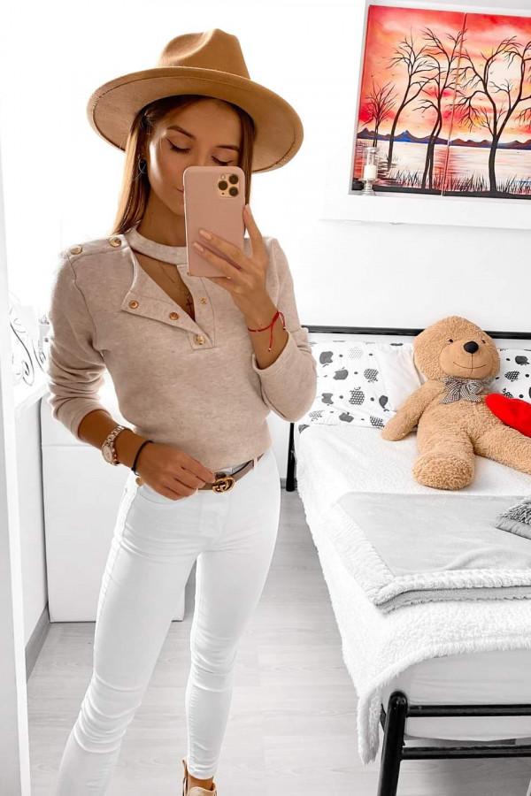 Sweterek z guzikami LENA