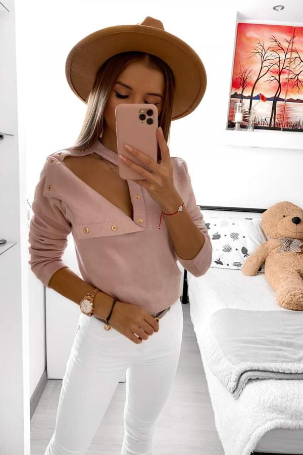 Sweterek z guzikami LENA 2