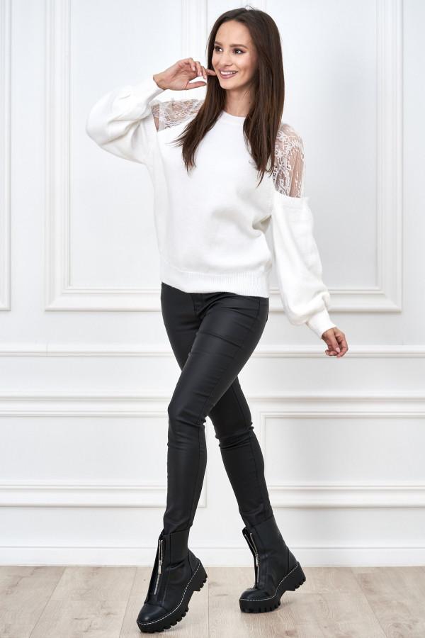 Sweter z koronką DORIS 1