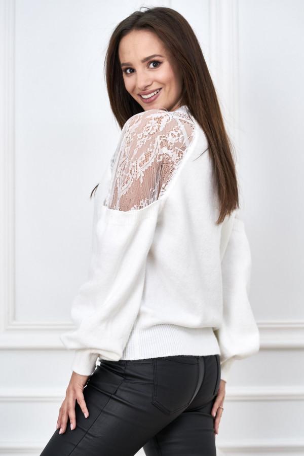 Sweter z koronką DORIS 3