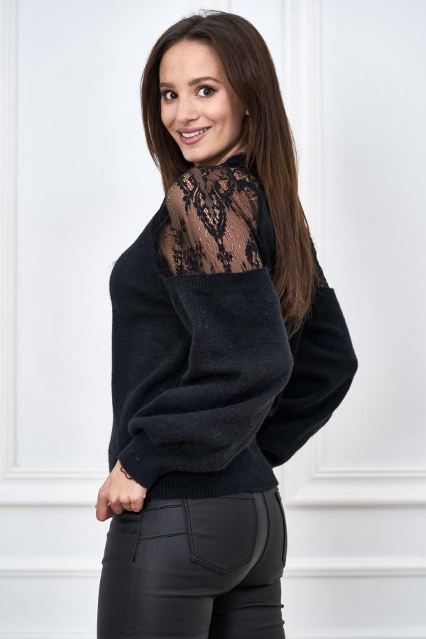Sweter z koronką DORIS 2