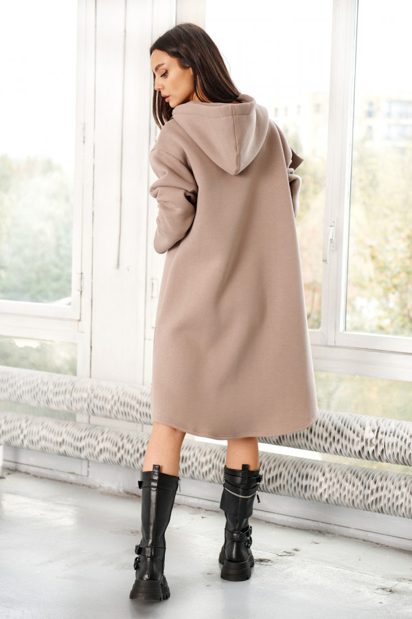 Bluza sukienka z falbaną LISA 4