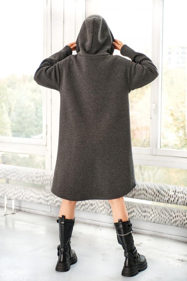 Bluza sukienka z falbaną LISA 3