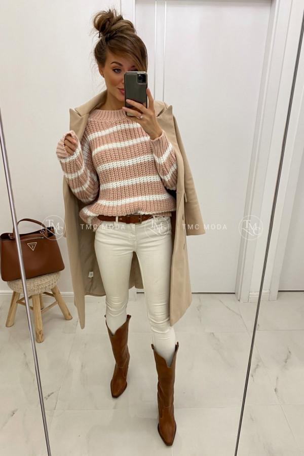 Sweter w paski STRIPES 1