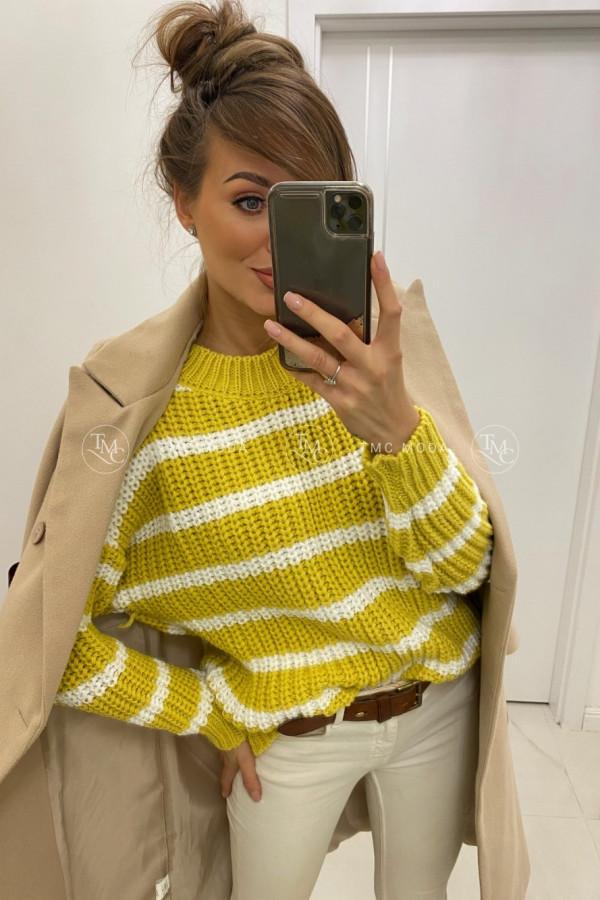 Sweter w paski STRIPES