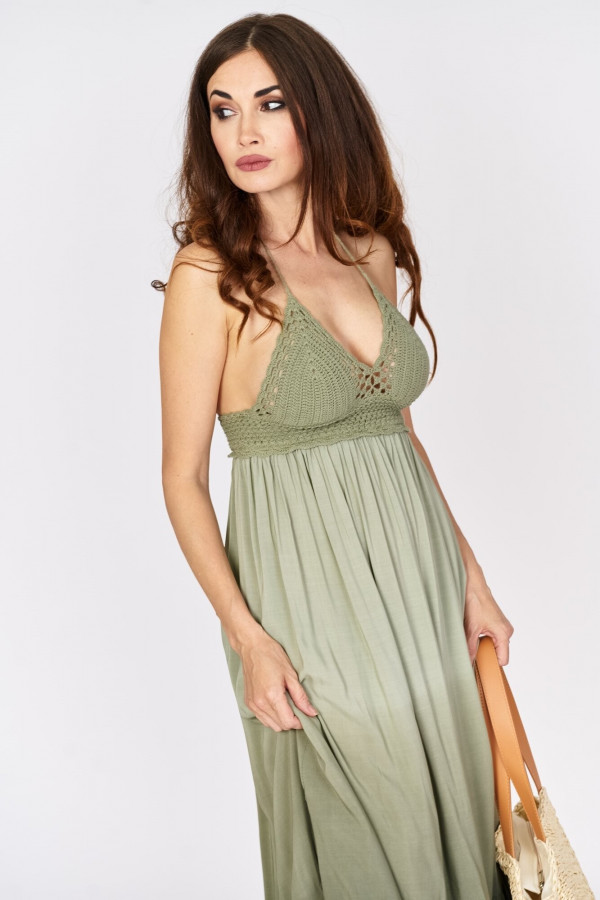Długa sukienka w stylu boho 2