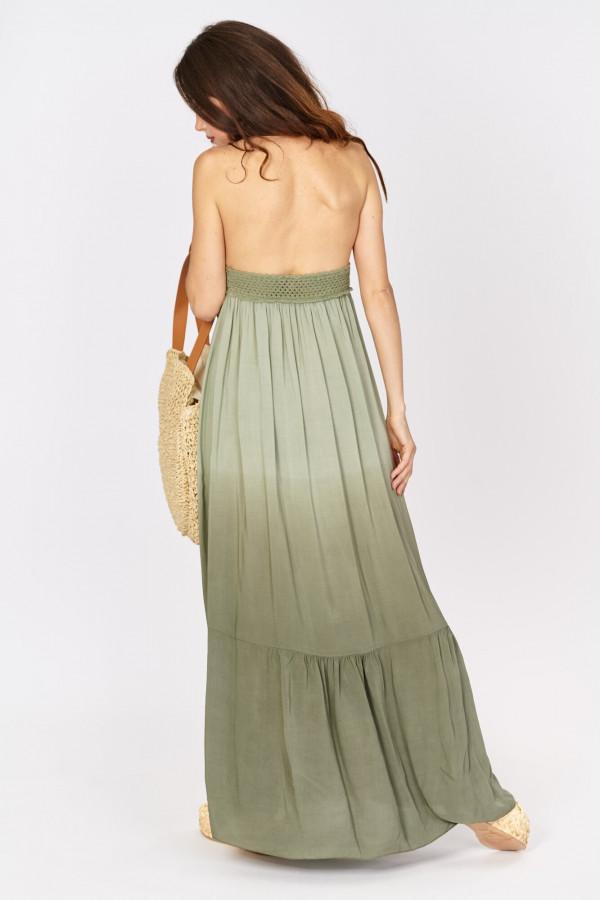 Długa sukienka w stylu boho 3