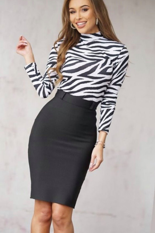 Bluzka golf zebra LaMilla 5