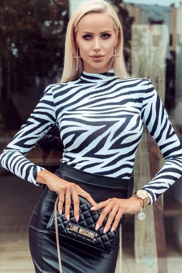 Bluzka golf zebra LaMilla 1