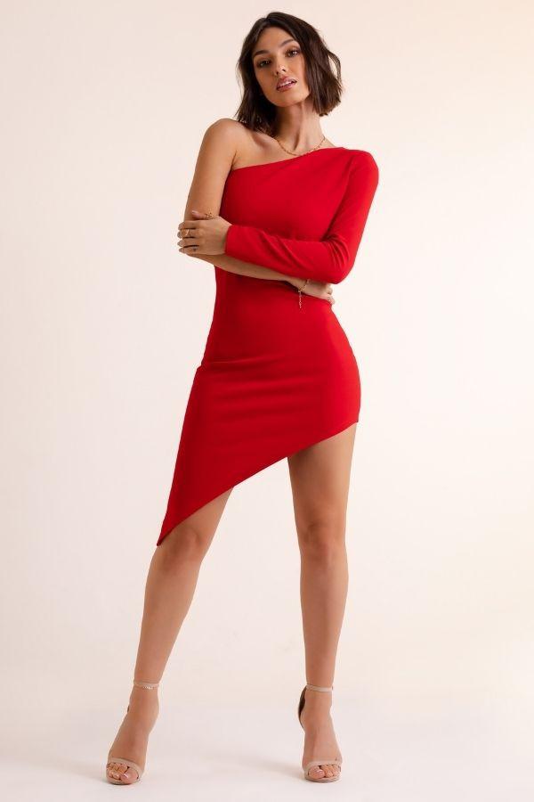 Asymetryczna sukienka SERENA