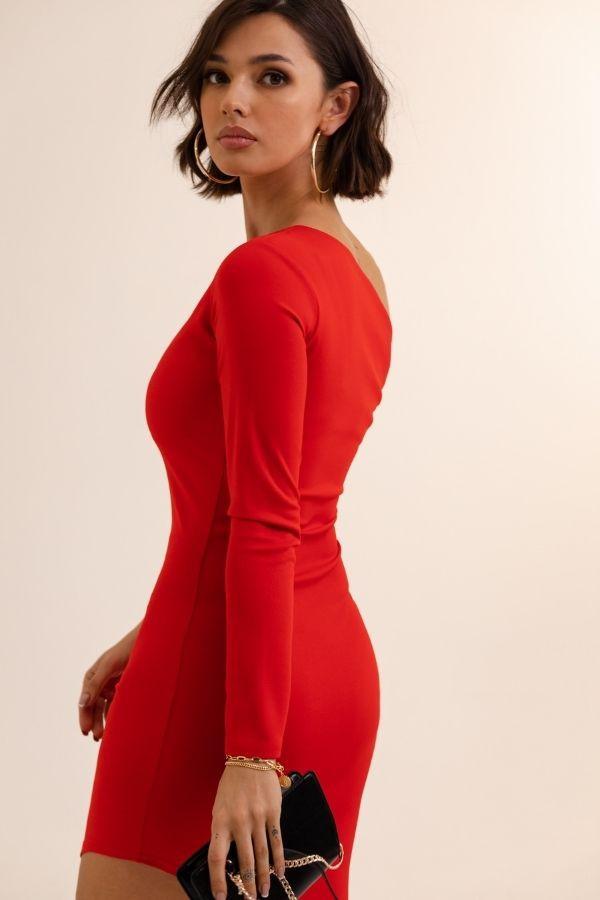 Asymetryczna sukienka SERENA 4