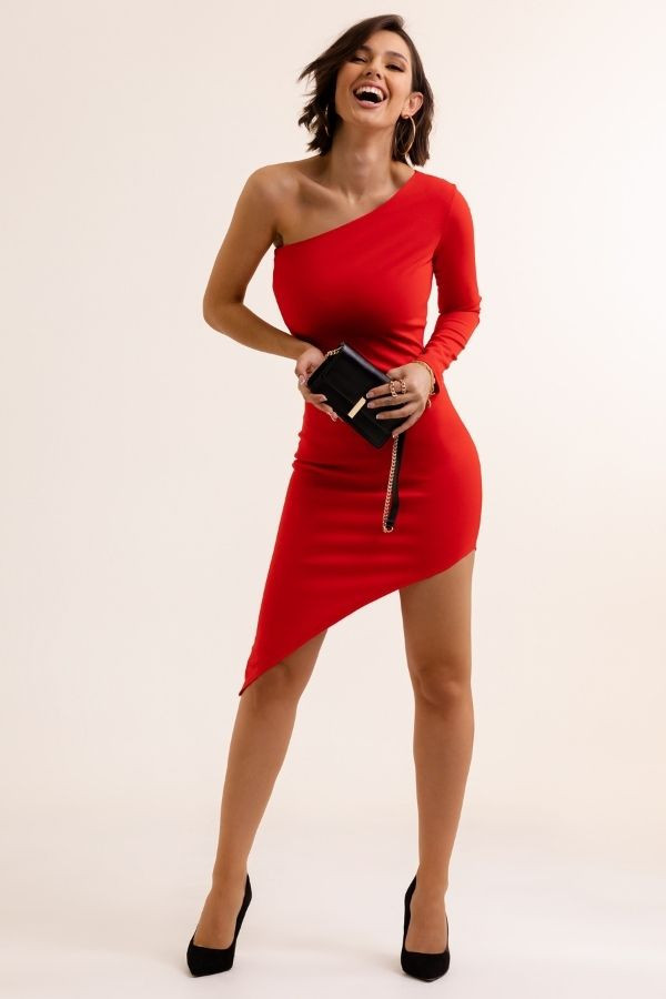 Asymetryczna sukienka SERENA 2