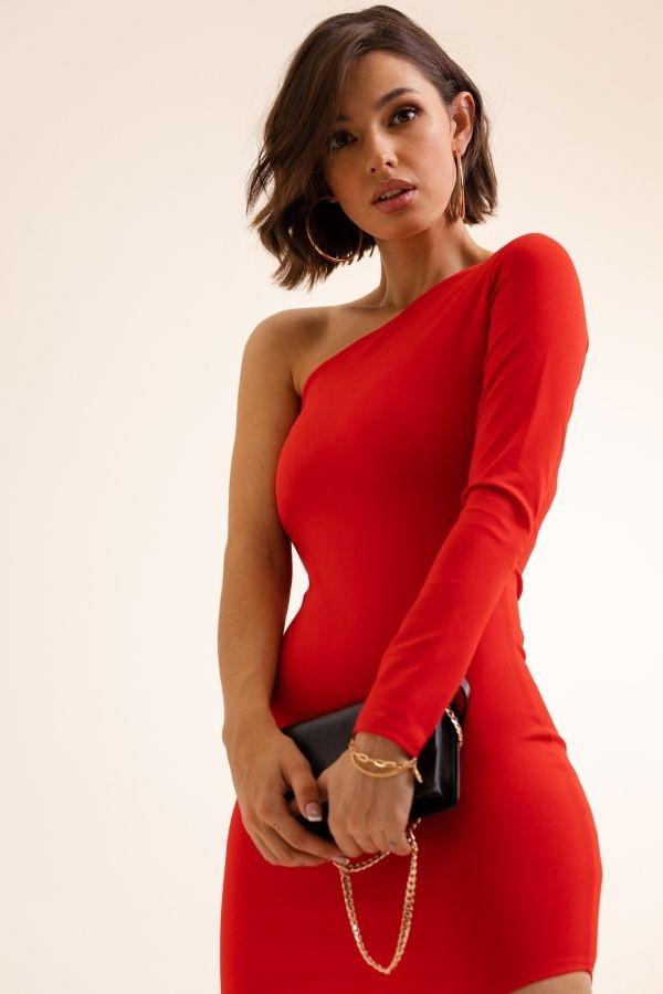 Asymetryczna sukienka SERENA 5
