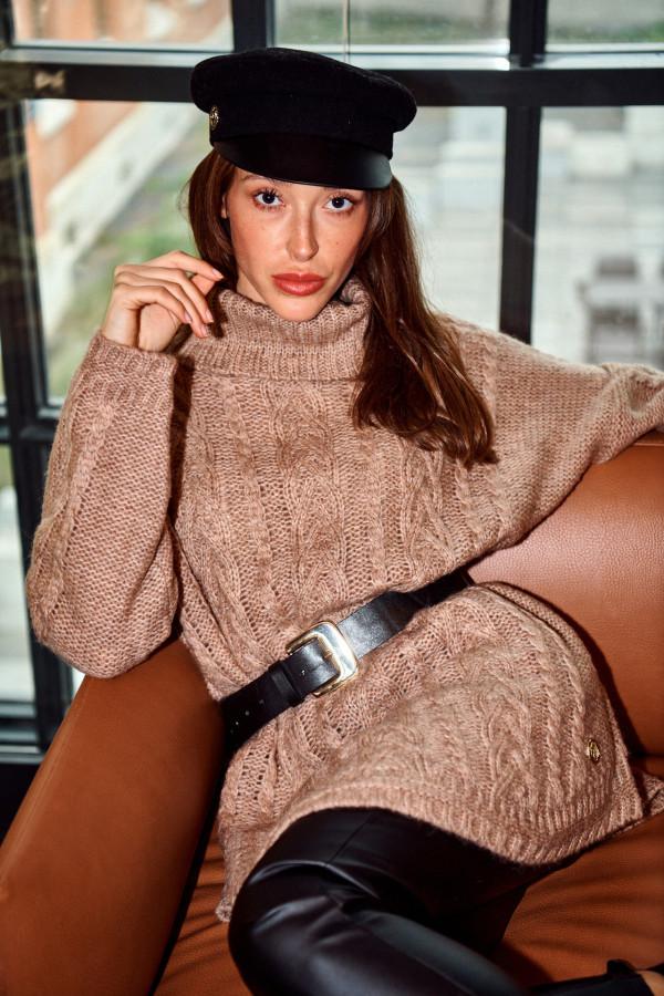 Sweter golf oversize LUNA 2