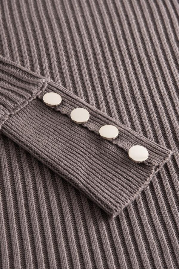 Sukienka swetrowa z golfem ALASKA 2