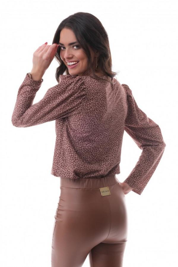 Spodnie z eko skóry OOH LA LA 1