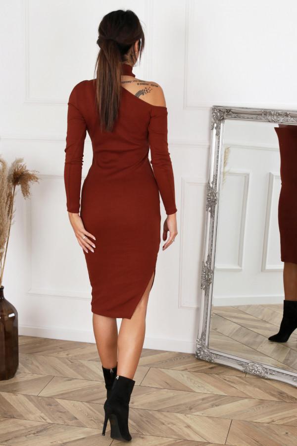 Sukienka midi z rozcięciem AMANDA 1