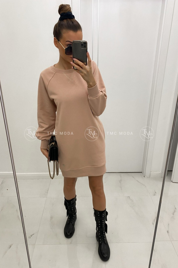 Sukienka dresowa CLASSY