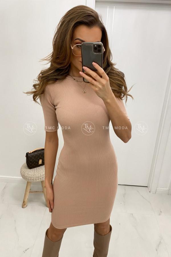 Dopasowana sukienka basic KYLIE 1