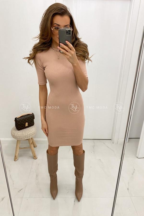 Dopasowana sukienka basic KYLIE