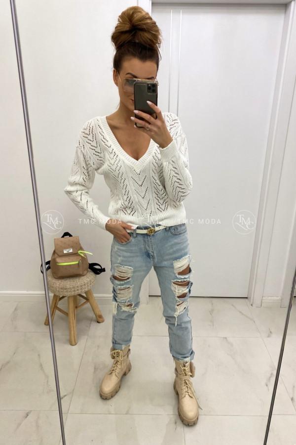 Sweter ażurowy NESSA 1