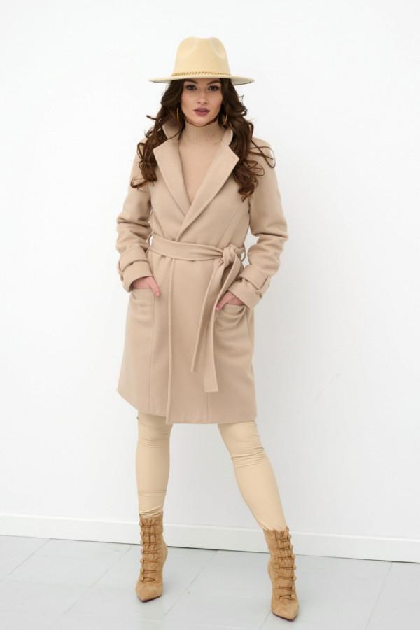 Płaszcz wiązany MANCY 1