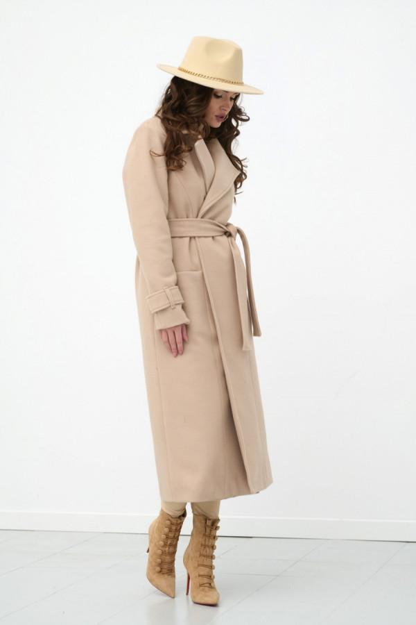 Długi płaszcz wiązany DARCY 1