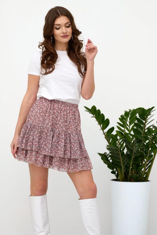 Spódnica mini w kwiaty AUSTIN