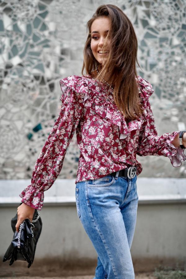 Bluzka w kwiaty LUCILE 1